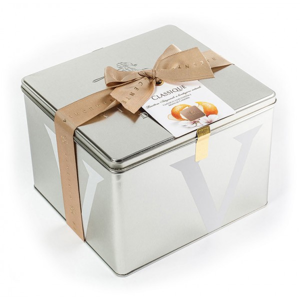 Vincente Delicacies - Classical Panettone with Raisin and Candied Orange - Classique - Artisan in Metallic Box