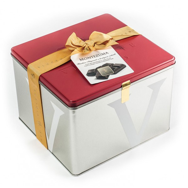 Vincente Delicacies - Panettone Coated with 70% Extra Dark Chocolate - Montezuma - Artisan in Metallic Box
