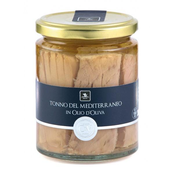 Vincente Delicacies - Tonno del Mediterraneo in Olio d'Oliva - C&V - Linea Pesce