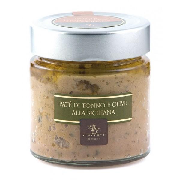 Vincente Delicacies - Paté di Tonno e Olive alla Siciliana - Paté Gastronomici Artigianali
