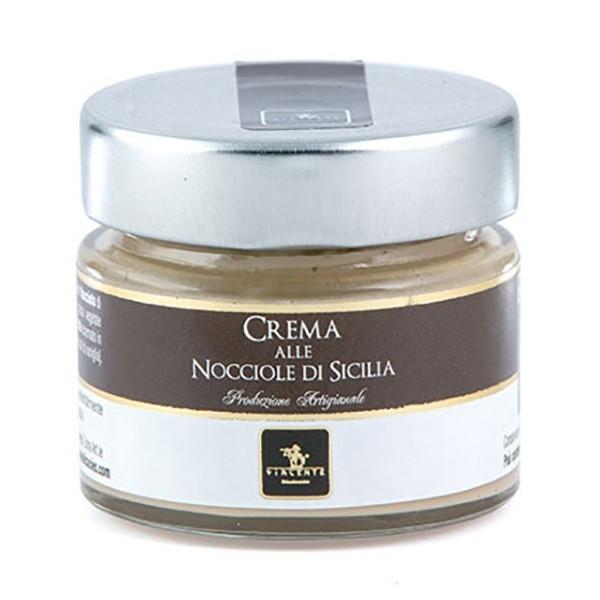 Vincente Delicacies - Crema alle Nocciole di Sicilia - Creme Spalmabili Artigianali - 90 g