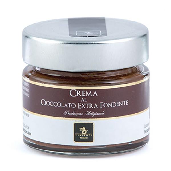 Vincente Delicacies - Crema al Cioccolato Extra Fondente - Creme Spalmabili Artigianali - 90 g
