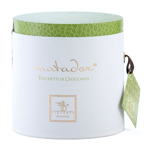 Vincente Delicacies - Crunchy Nougat Pieces with Sicilian Almonds - Matador Prestige Box