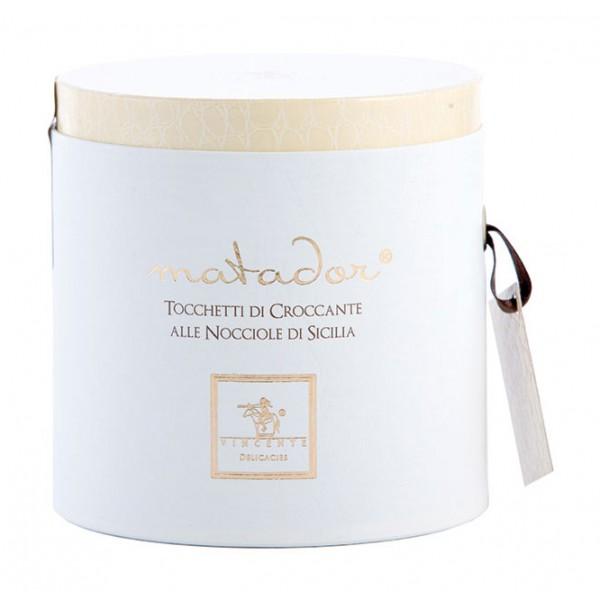 Vincente Delicacies - Tocchetti di Croccante alle Nocciole Sicilia - Matador Cilindro Prestige