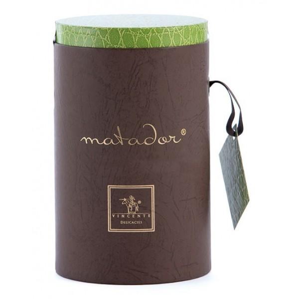 Vincente Delicacies - Tocchetti di Croccante alle Nocciole Sicilia Ricoperti di Cioccolato al Latte - Matador Cilindro Prestige
