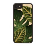 Wood'd - Amazonia Cover - iPhone 8 / 7 - Cover in Legno - Pattern Floreali Collection