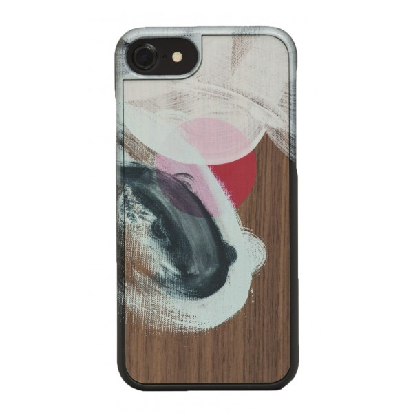 Wood'd - Tela Due Cover - iPhone X - Cover in Legno - Canvas Collection