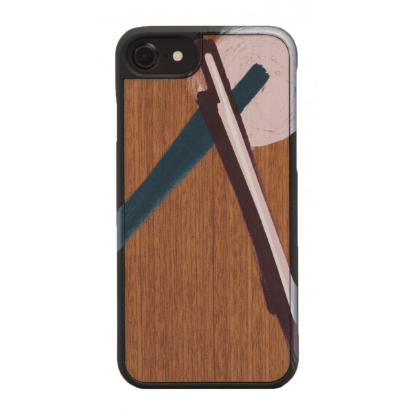 Wood'd - Tela Tre Cover - iPhone X - Cover in Legno - Canvas Collection