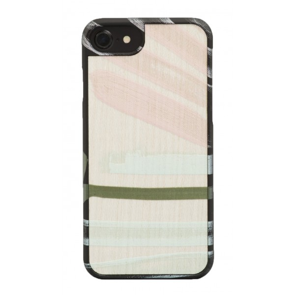 Wood'd - Tela Sette Cover - iPhone X - Cover in Legno - Canvas Collection