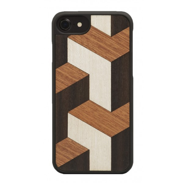 Wood'd - Tumble Cover - iPhone X - Cover in Legno - Classic Collection