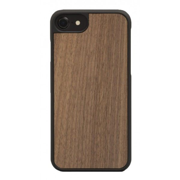 Wood'd - Walnut Cover - iPhone X - Cover in Legno - Classic Collection