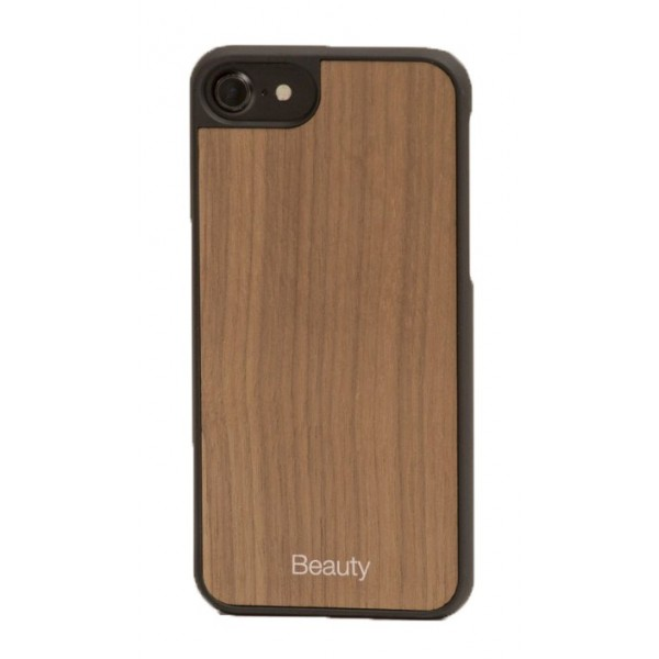 Wood'd - Beauty Walnut Cover - iPhone X - Cover in Legno - Type Collection