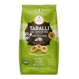 Terre di Puglia - Taralli Moderni Bio - Semi Di Chia - Linea Salata - Linea Bio