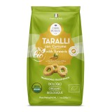 Terre di Puglia - Taralli Moderni Bio - Curcuma - Linea Salata - Linea Bio