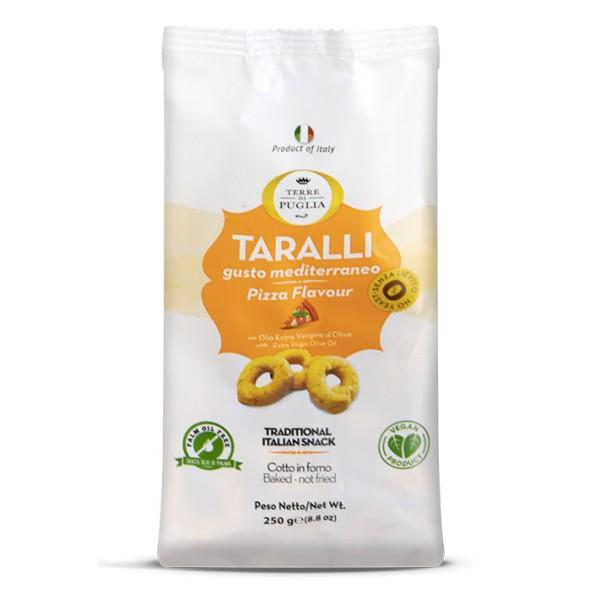 Terre di Puglia - Modern Taralli - Pizza Flavour - Salty Line