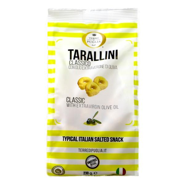 Terre di Puglia - Millerighe Tarallini - Classic- Salty Line