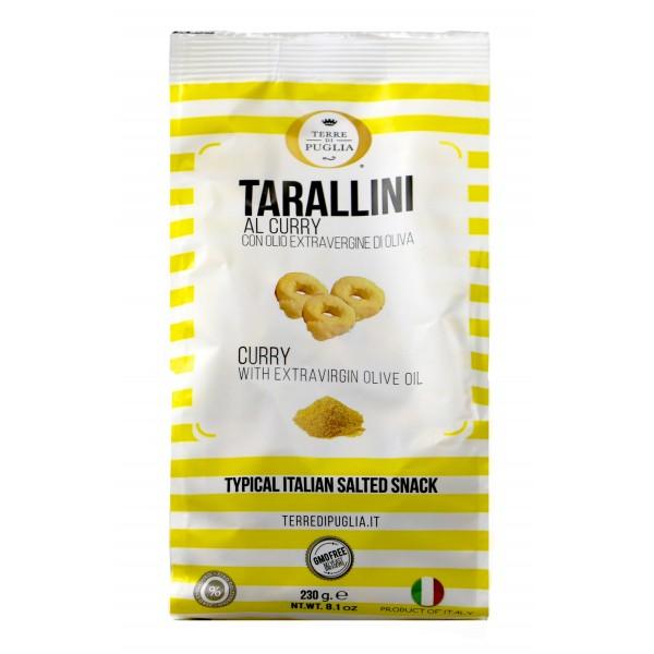 Terre di Puglia - Tarallini Millerighe - Gusto Churry - Linea Salata