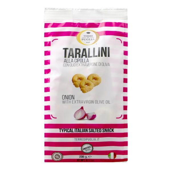 Terre di Puglia - Tarallini Millerighe - Cipolla - Linea Salata