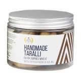 Terre di Puglia - Taralli Tradizionali Fatti a Mano - Grano Arso - Box - Linea Salata