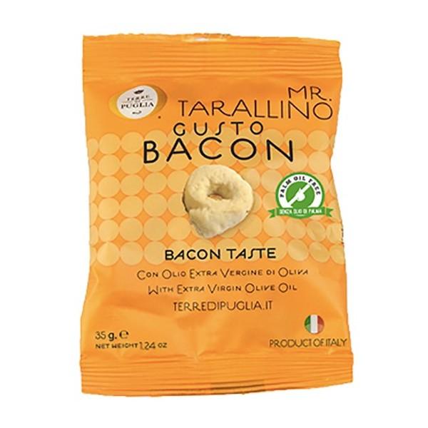 Terre di Puglia - Mr Tarallino - Gusto Bacon - Linea Salata