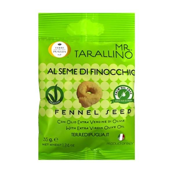 Terre di Puglia - Mr Tarallino - Semi di Finocchio - Linea Salata
