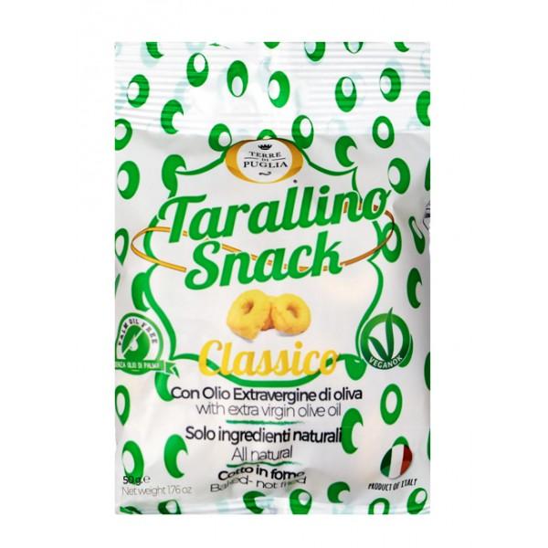 Terre di Puglia - Tarallino Snack - Classici - Olio Extravergine di Oliva - Linea Salata