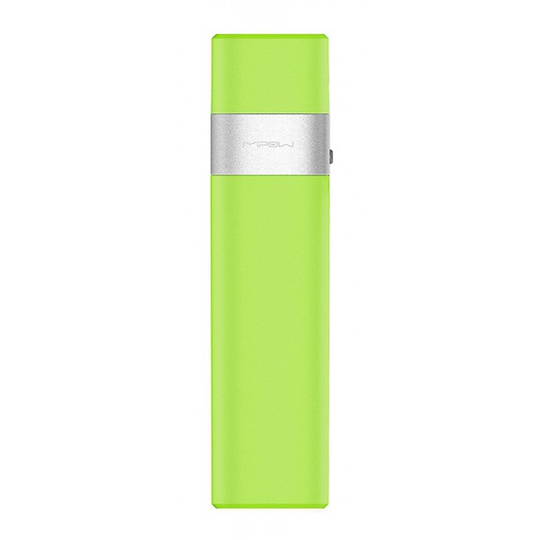 MiPow - Power Tube 3000l - Green - Portable Batteries - Portable Charger For Apple Devices with App Control - 3000 mAh