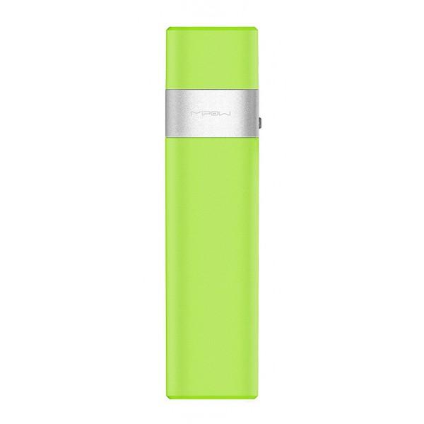 MiPow - Power Tube 3000l - Verde - Batterie Portatili - Caricabatterie Portatile - Dispositivi Apple con App Control - 3000 mAh