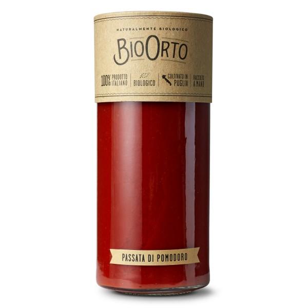 BioOrto - Passata di Pomodoro Datterino Bio - Conserve Biologiche - 580 ml
