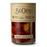 BioOrto - Pomodori Bio Essiccati al Sole - Conserve Biologiche - 370 ml