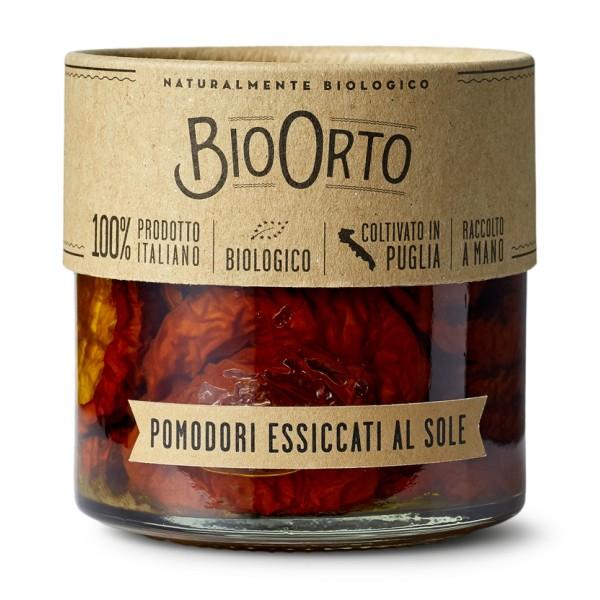 BioOrto - Pomodori Bio Essiccati al Sole - Conserve Biologiche - 212 ml