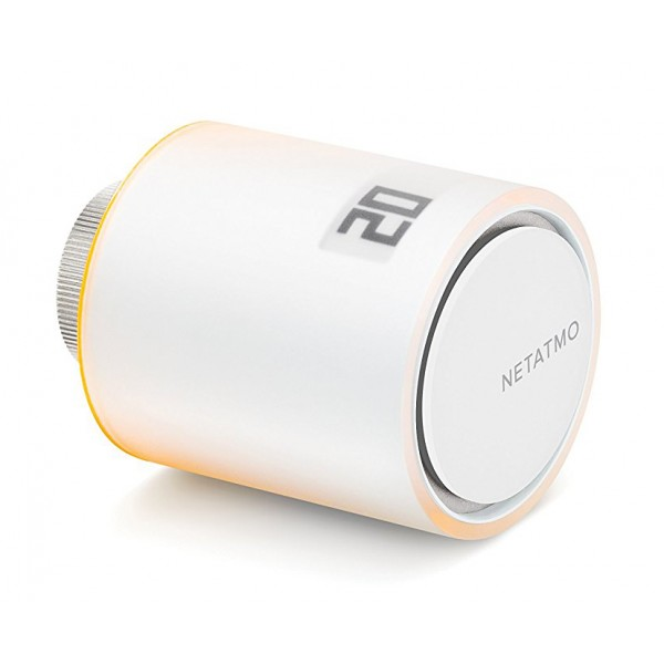 Netatmo - Valvola Intelligente per Termosifoni Netatmo - Valvola Intelligente Smart Home - Valvola Intelligente