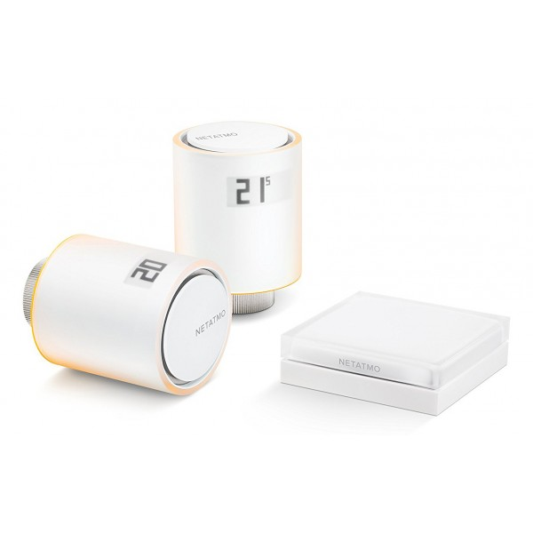 Netatmo - Basic Kit for Centralized Heating Systems Netatmo - Intelligent Valves Smart Home - Intelligent Radiator Valves