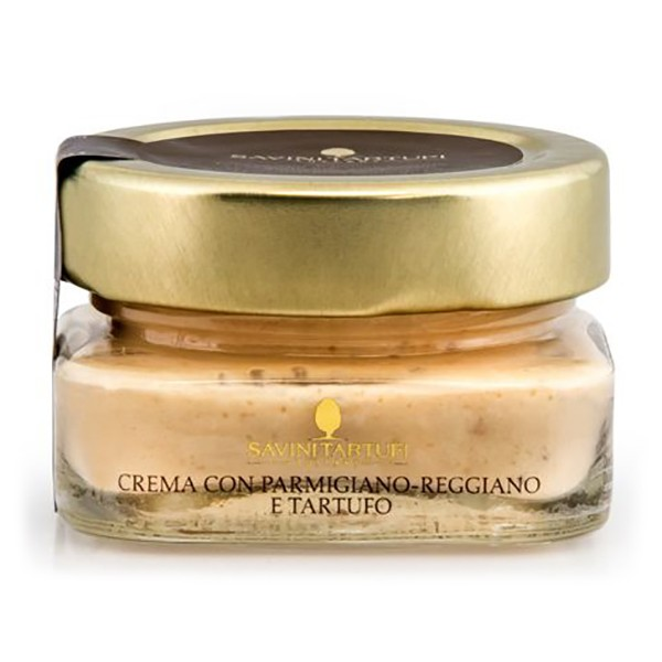Savini Tartufi - Cream with Parmigiano Reggiano and Truffle - Collection Line - Truffle Excellence - 100 g