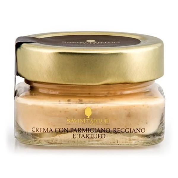 Savini Tartufi - Crema con Parmigiano Reggiano e Tartufo - Linea Collezione - Eccellenze al Tartufo - 100 g