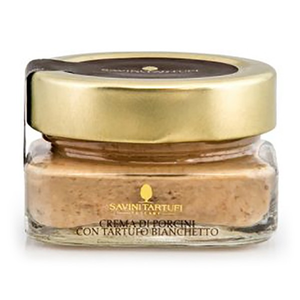 Savini Tartufi - Porcini Cream with Bianchetto Truffle - Collection Line - Truffle Excellence - 45 g