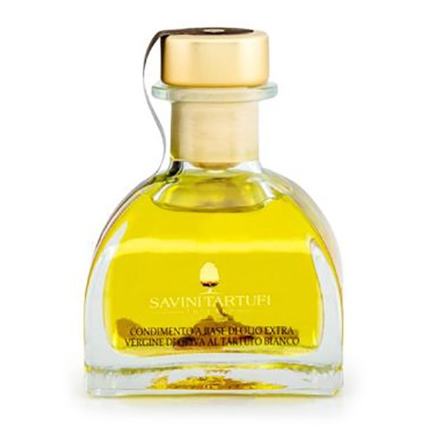 Savini Tartufi - Extra Virgin Olive Oil with White Truffle - Collection Line - Truffle Excellence - 100 g