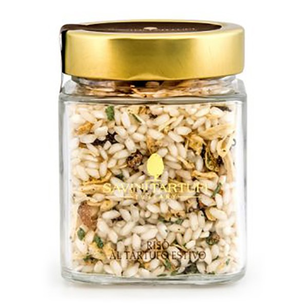 Savini Tartufi - Rice with Summer Truffle - Collection Line - Truffle Excellence - 250 g