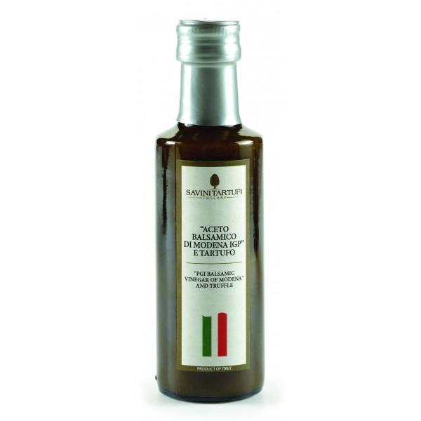"Savini Tartufi - Condiment with Truffles with ""Balsamic Vinegar of Modena PGI"" - Tricolor Line - Truffle Excellence - 100 ml"