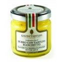 Savini Tartufi - Condimento a Base di Burro con Tartufo Bianchetto - Linea Tricolore - Eccellenze al Tartufo - 80 g