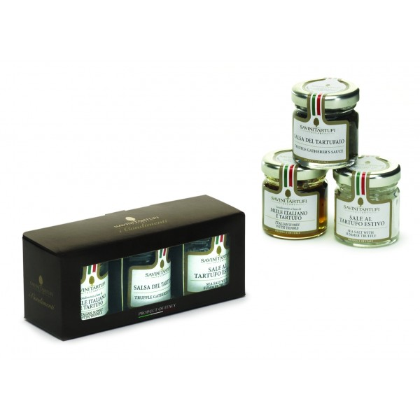 Savini Tartufi - Sweet and Savory Condiments - Gift Boxes - Truffle Excellence