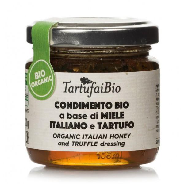 Savini Tartufi - Organic Italian Honey Condiment with Truffle - Tartufai Bio - Organic Truffle Line - Truffle Excellence - 120 g