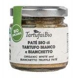 Savini Tartufi - Patè Bio di Tartufo Bianco e Bianchetto - Linea Tartufai Bio - Eccellenze al Tartufo - 30 g