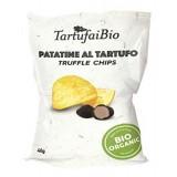 Savini Tartufi - Patatine al Tartufo - Linea Tartufai Bio - Linea Snack - Eccellenze al Tartufo - 40 g