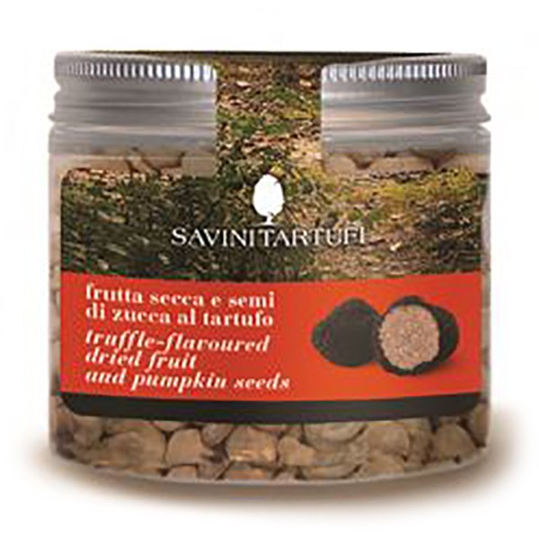 Savini Tartufi - Dried Fruit and Pumpkin Seeds with Truffle - Snack Line - Truffle Excellence - 80 g