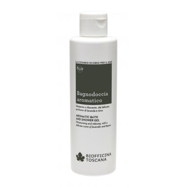 Biofficina Toscana - Aromatic Bath and Shower Gel - Cleansing Line - Organic Vegan Cosmetics