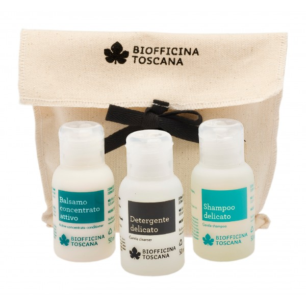Biofficina Toscana - Travel Sizes - Cleansing Line - Organic Vegan Cosmetics