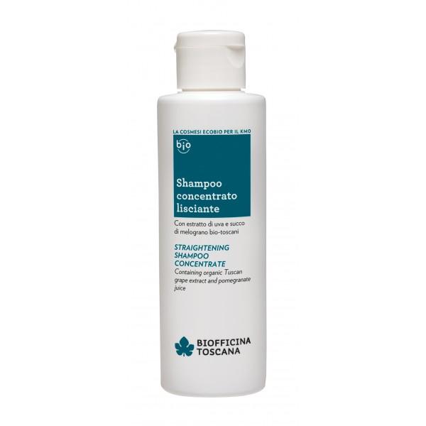 Biofficina Toscana - Shampoo Concentrato Lisciante - Linea Capelli - Cosmetici Bio Vegan