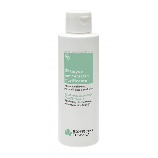 Biofficina Toscana - Purifying Shampoo Concentrate - Hair Line - Organic Vegan Cosmetics