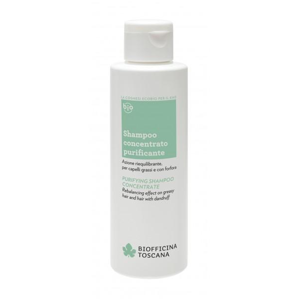 Biofficina Toscana - Shampoo Concentrato Purificante - Linea Capelli - Cosmetici Bio Vegan